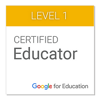Certified Google Level I Educator