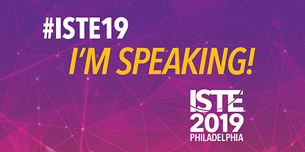 I'm speaking at ISTE 2019 in Philadelphia!