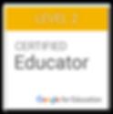 Certified Google Level II Educator