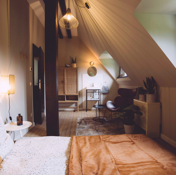 Ferienzimmer der Edelfuchs Lodge