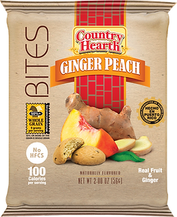 Country Hearth Ginger Peach Bites