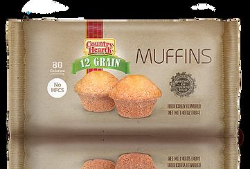 Country Hearth 12 grain_muffins