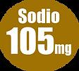 Sodio 105mg