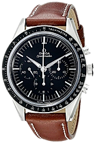 Omega Analog Mechanical Hand Wind Brown