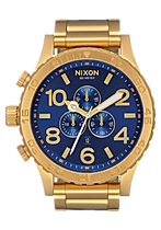 nixon 51-30 all gold blue sunray.png
