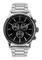 nixon sentry chrono 42mm black.png