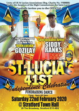 St Lucia 41st Independence Celebration 2020