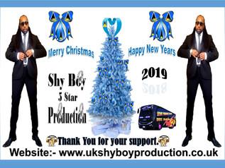 ShyBoy Christmas message