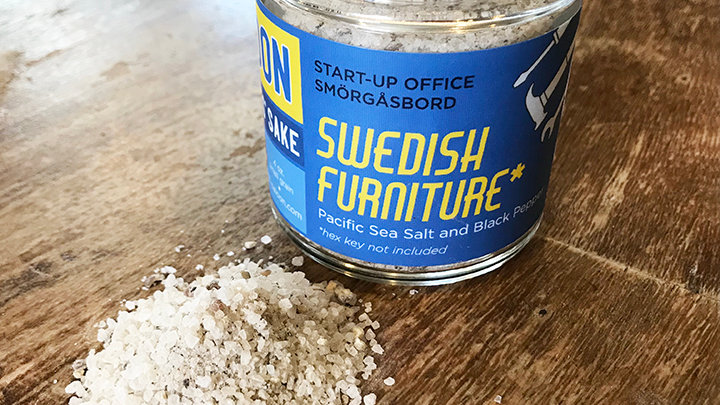Swedish Furniture (Salt and Pepper)