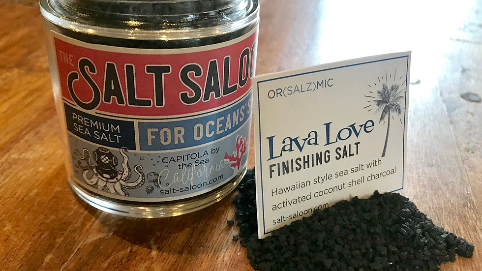 Lava Love Finishing Salt
