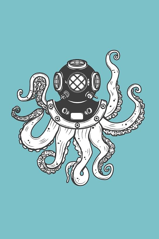 Salt Saloon Octopus Diver Icon
