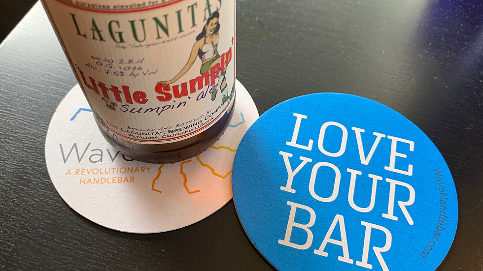 'Love Your Bar' Drink Coasters