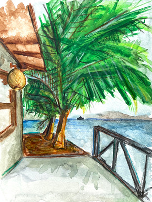 vietnam travel sketches