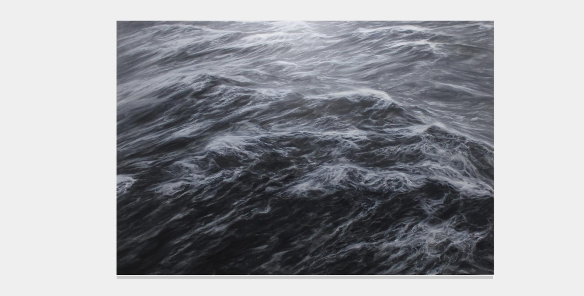 """200 x 300 cm  huile sur toile 10.000 E """"L'indomptable"""" Franco Salas Borquez"""
