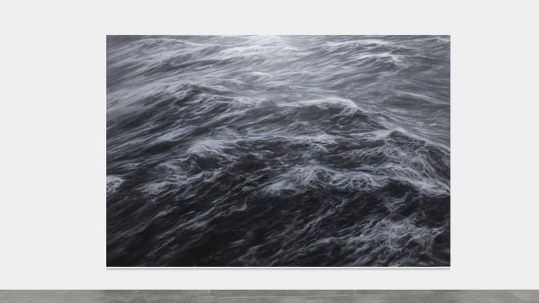 """200 x 300 cm  huile sur toile """"L'indomptable"""" Franco Salas Borquez"""