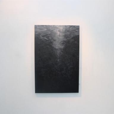 """""""Le profond"""" huile sur toile 130 x 97 cm 2019"""