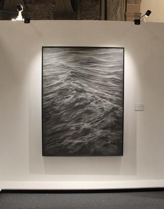 """130 x 174 cm crayon sur bois CP """"Le silence"""" Franco Salas Borquez"""