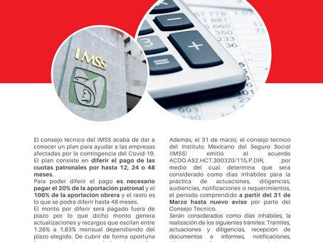 Boletín Informativo: Medidas del IMSS ante COVID-19 (bilingüe)