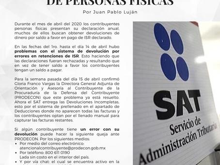 Boletín Informativo: DECLARACIÓN ANUAL DE PERSONAS FÍSICAS