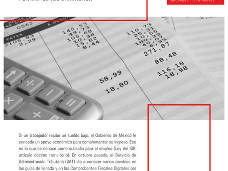 Boletín Informativo: ¿Qué es el subsidio para el empleo?