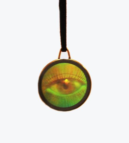 Holographic Eye Pendant