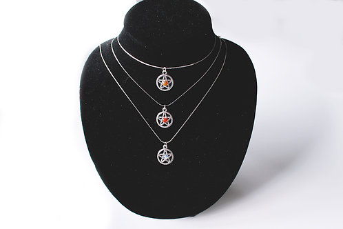 'Queen of Pentacles' Sterling Silver Necklace