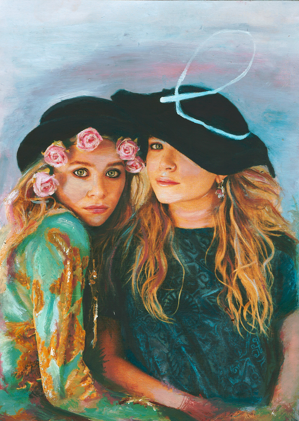 The Twins (2013) Sophie Barrott |  Artist | Art Prints