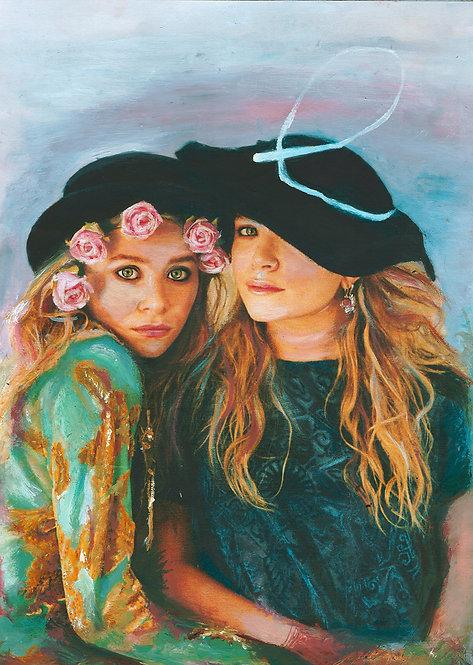 'The Twins' Art Print