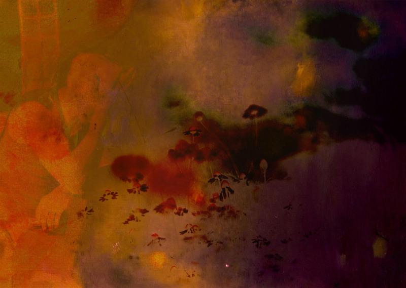 Blue Valentine Diptych (2013) pt.1 Sophie Barrott |  Artist | Art Prints Sophie Barrott |  Artist |