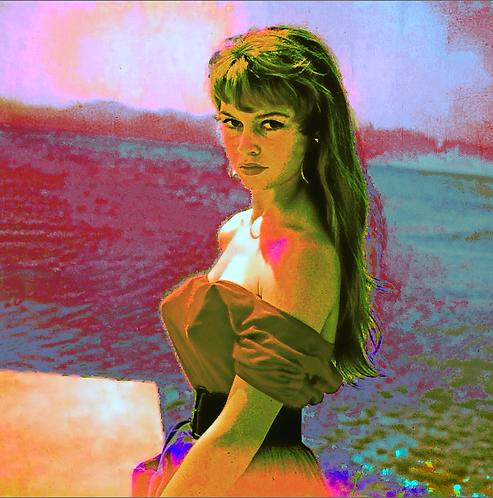 Bardot (2014) Art Print