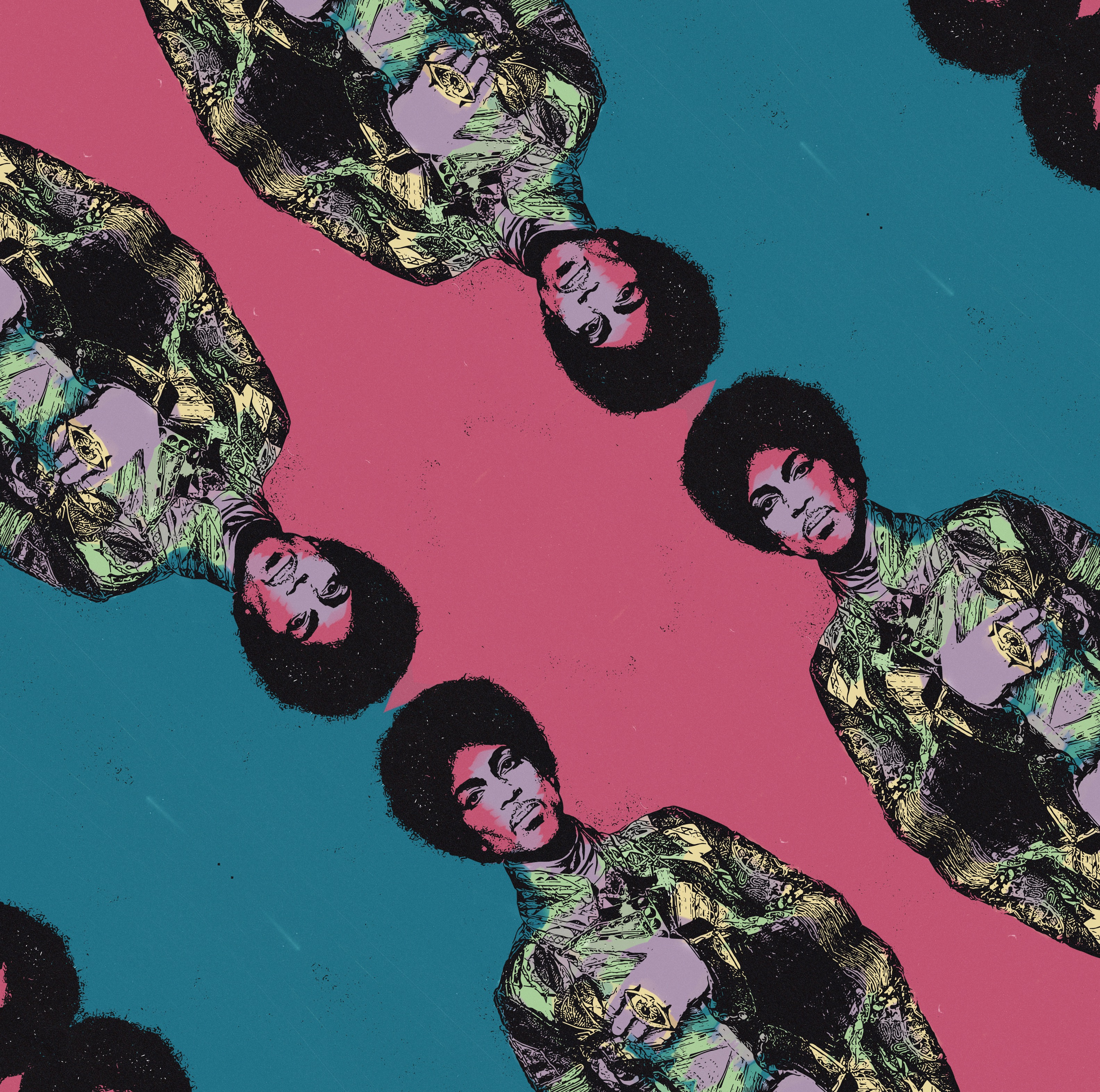 PRINCE PATTERNED | Sophie Barrott |  Art