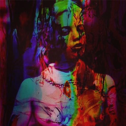 Lauren (2014)   Art Print