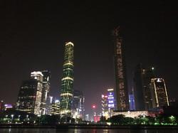 Modern China at night