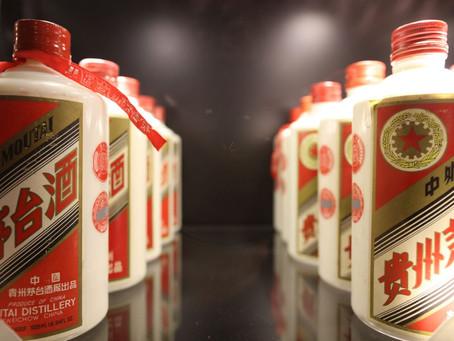 O mercado de destilados na China deve chegar a USD450 bilhões em 2021