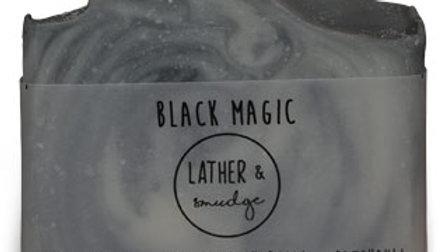 Lather & Smudge 125g Black Magic Artisanal Soap