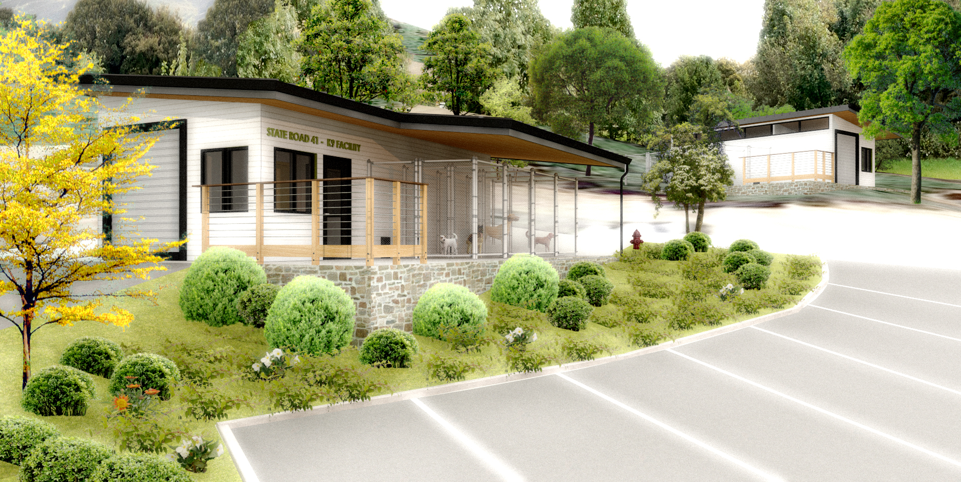 StateRoad41CanineFacility_Entry Rendering