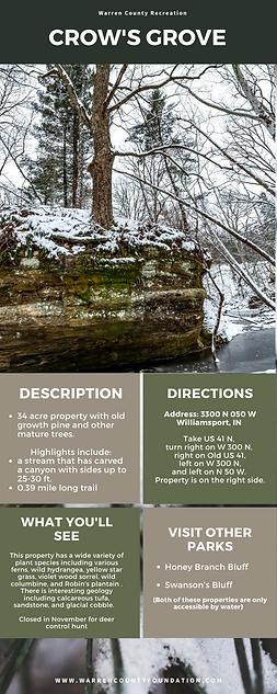 Warren County Recreation Infographic (17