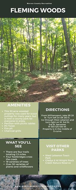 Warren County Recreation Infographic (11