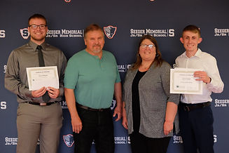 Tyler Potts Memorial Scholarship Recipie