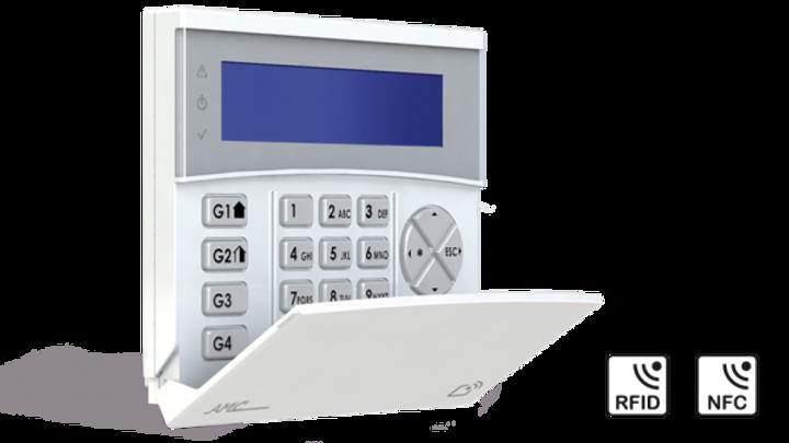 K-lcd W 800 - Tastiera Wireless LCD a 32 caratteri - 868 MHz