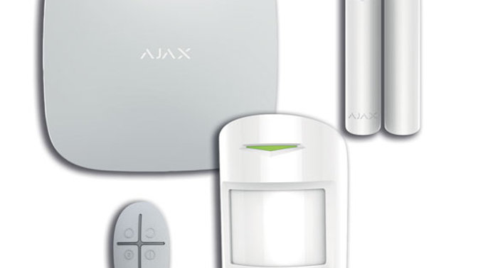 Kit HUB Plus Ajax LAN/GSM