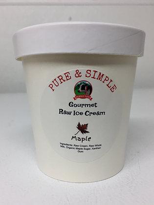 Raw Maple Ice Cream