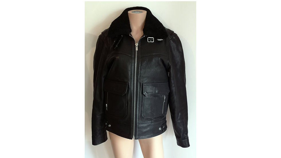 Blouson en cuir The Kooples