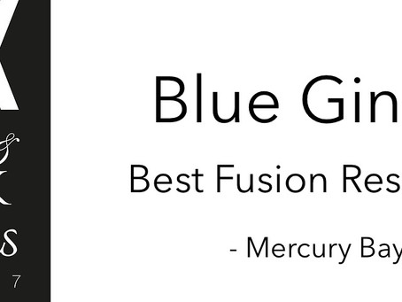Blue Ginger Awarded Best Fusion Restaurant 2017 | LUX AWARDS