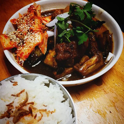 Chairman Mao's twice-cooked Pork Cheeks $16 special this week 😏🙈👌🐷_#yumyum #autumnflavours