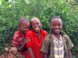 African children in Tanzania