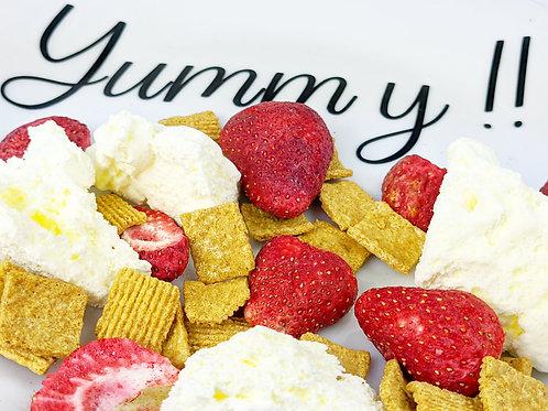 Strawberry Pie Snack Mix
