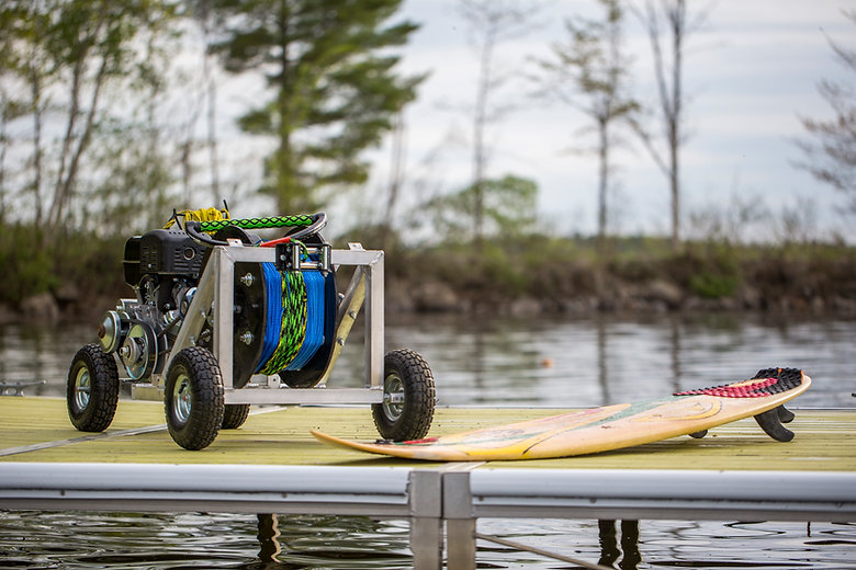 Winch across lakes rivers and ponds, even the ocean!