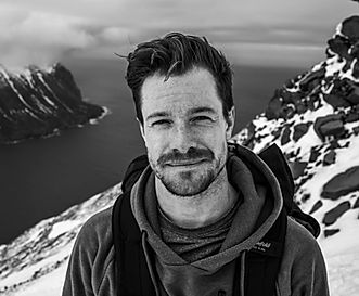 portrait of Will Mayo by Rami Hanafi in Iceland