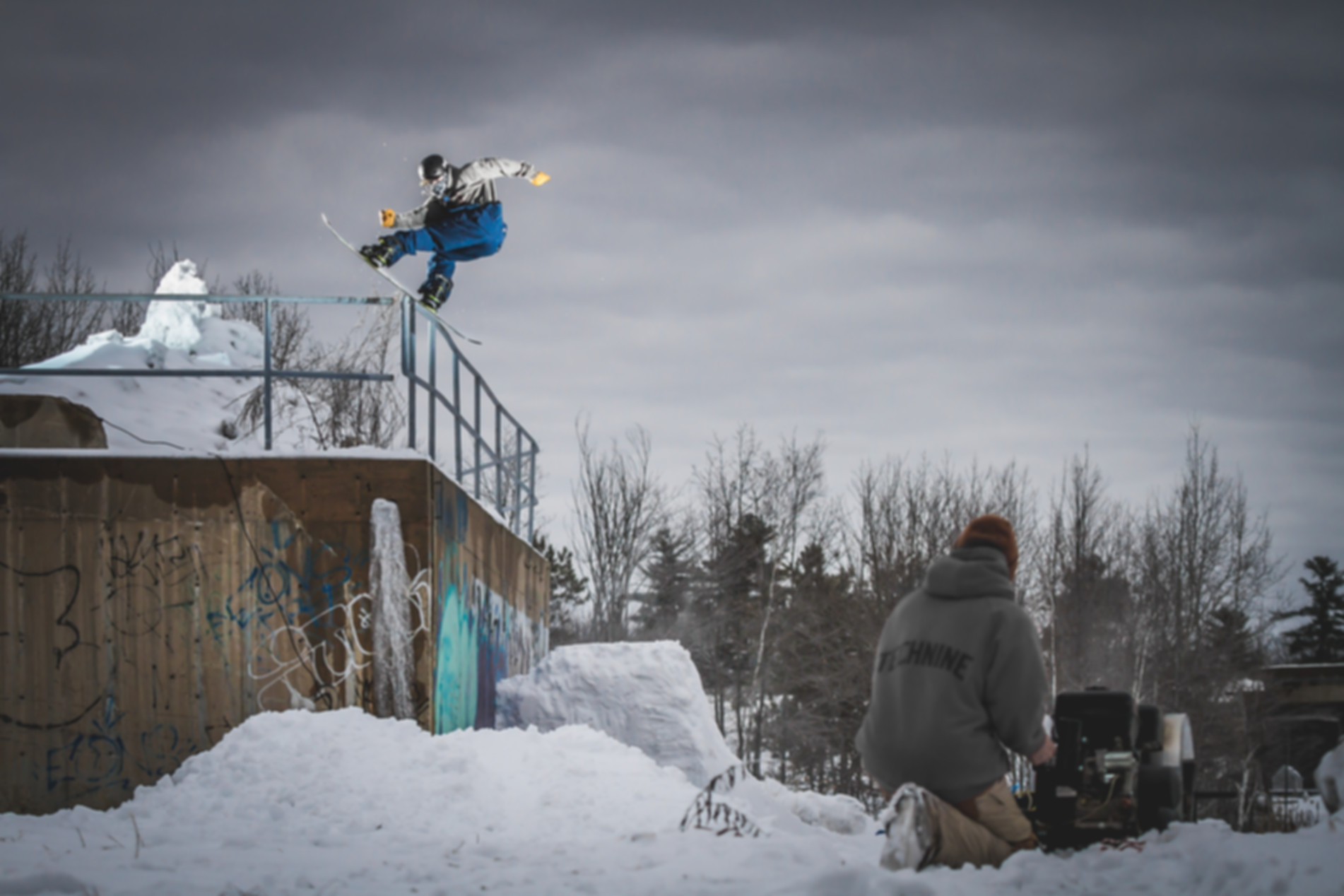 Photo of Will Mayo Snowboardin, by Randy Williams